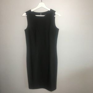 Ann Taylor Black Shift Dress #011